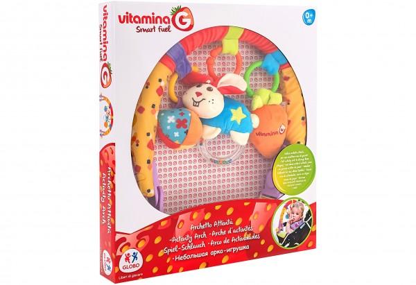 Arcada cu jucarii Globo pentru carucior copii
