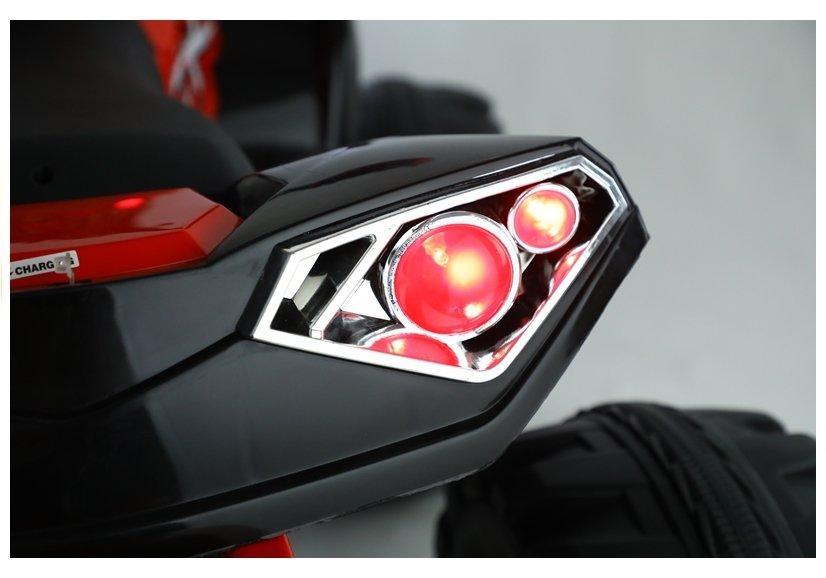 Atv electric cu telecomanda Nichiduta Off Road X Red - 6