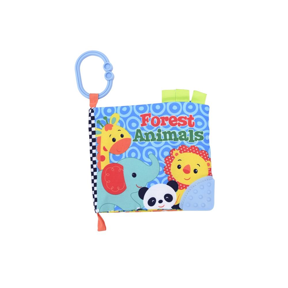 Carticica interactiva pentru bebelusi Animale salbatice