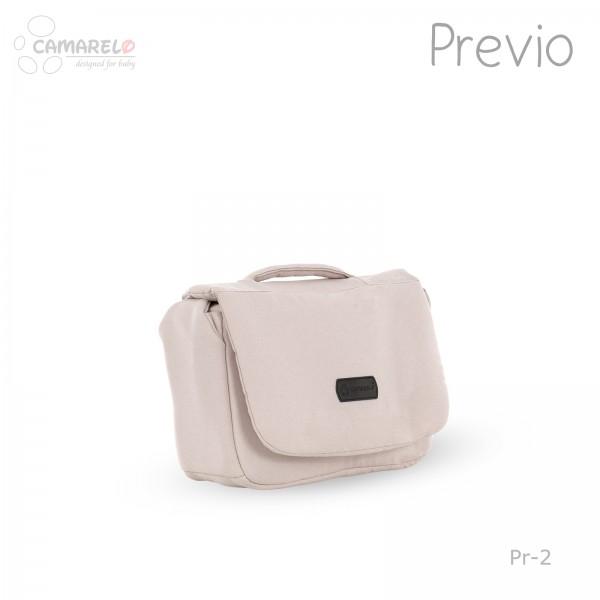 Carucior 2 in 1 Previo Camarelo Pre-2