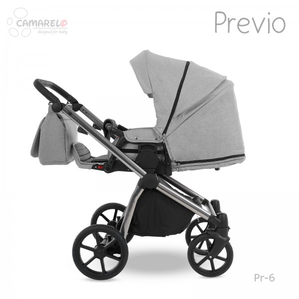 Carucior 2 in 1 Previo Camarelo Pre-6 imagine