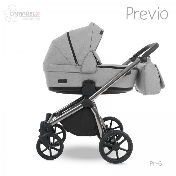 Carucior 3 in 1 Previo Camarelo Pre-6 imagine