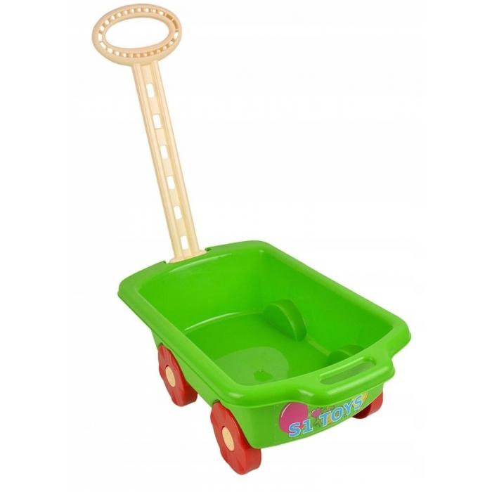 Carucior pentru jucarii Marmat verde imagine