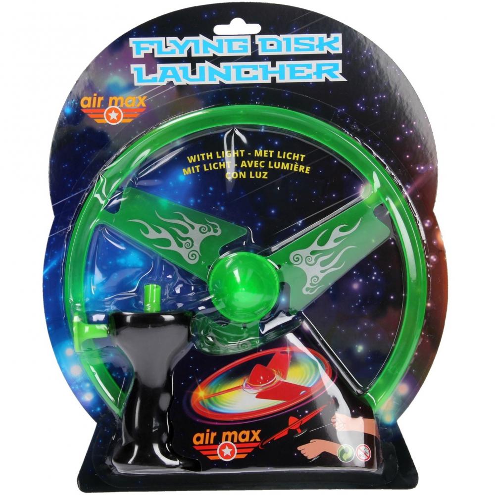 Disc zburator luminos cu dispozitiv de lansare 25 cm - 1