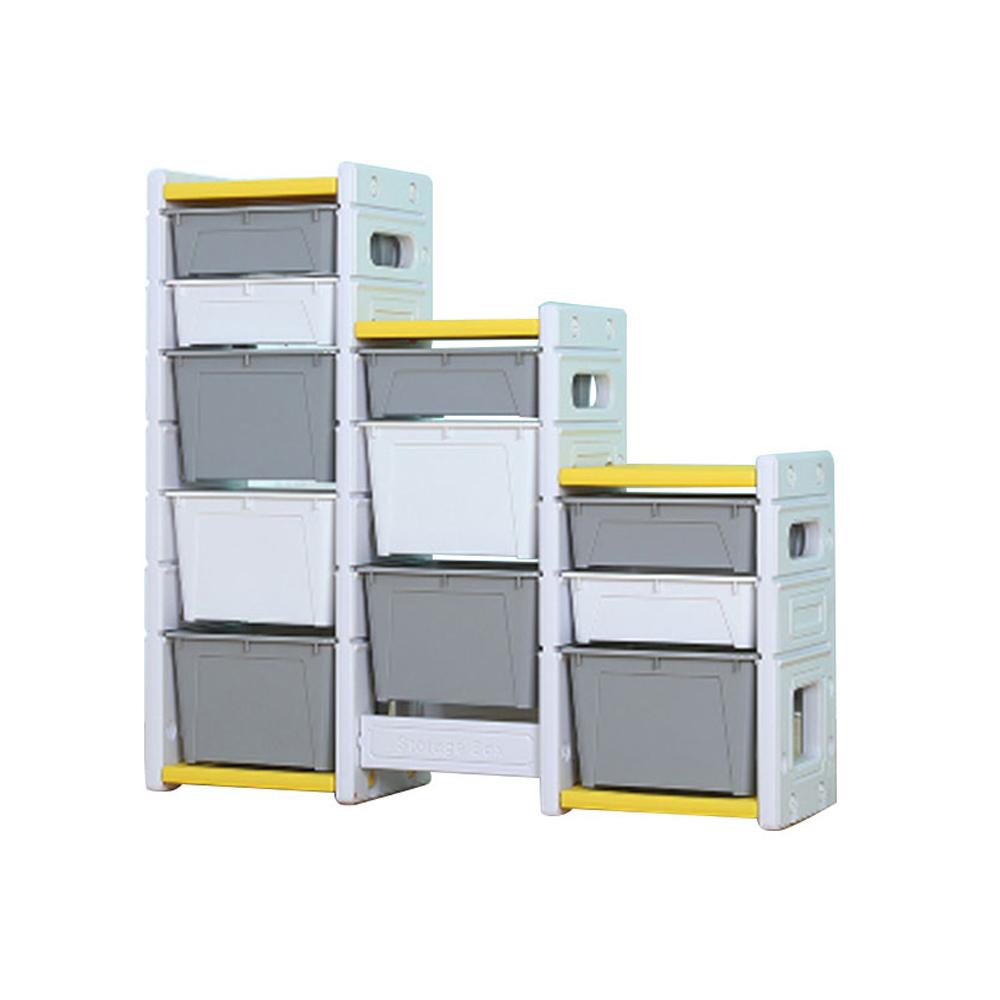Dulap modular pentru depozitare jucarii Nichiduta Storage Box Yellow