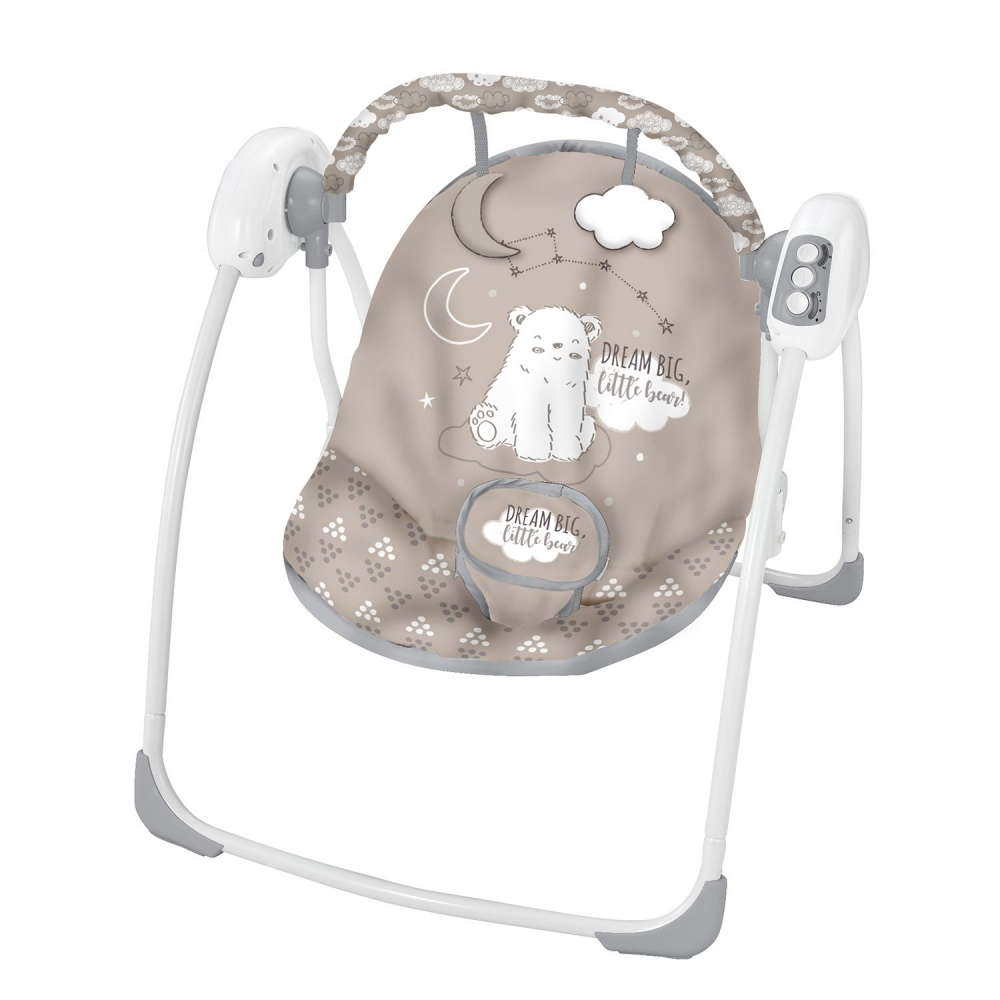 Leagan bebelusi cu conectare la priza Felice Grey Bear 2020