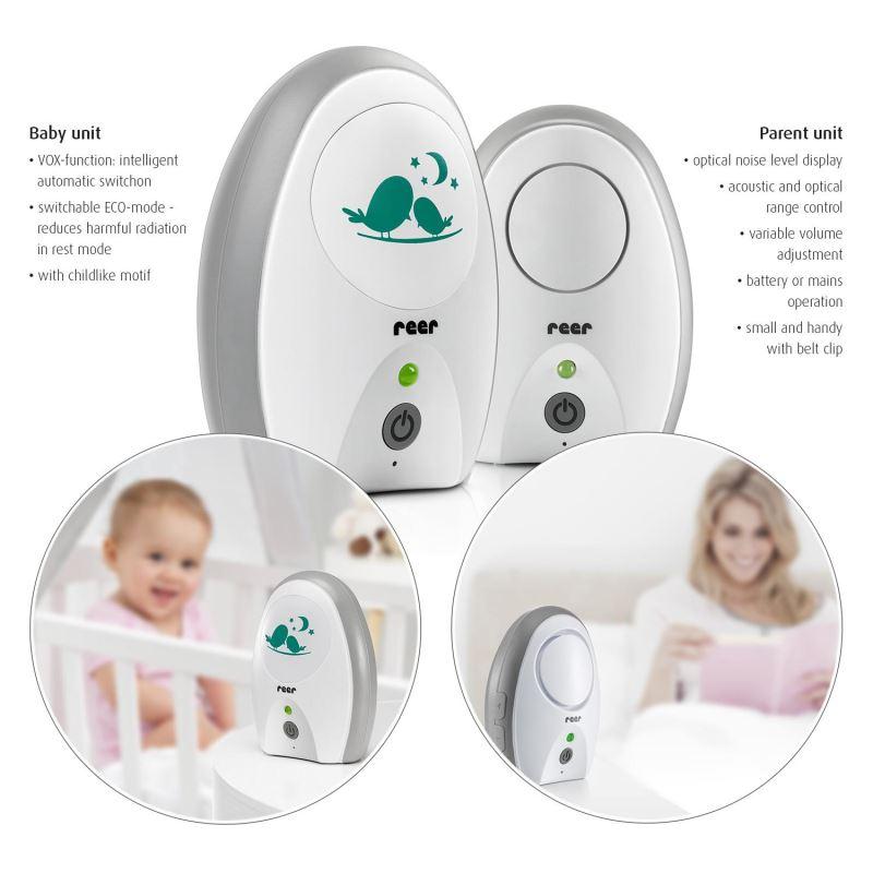 Monitor digital pentru bebelusi Neo Digital Reer 50040 imagine