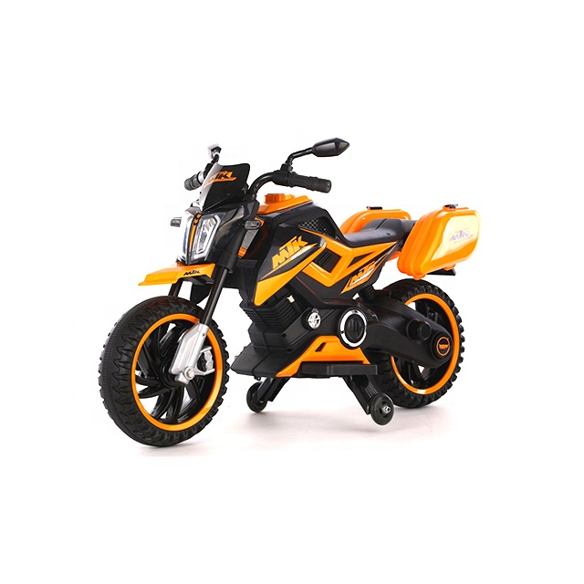 Motocicleta electrica 12V Nichiduta MTK Yellow