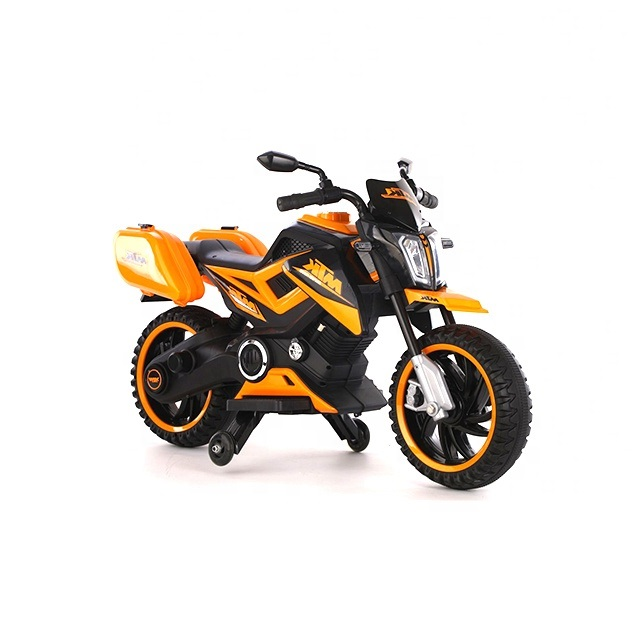 Motocicleta electrica 12V Nichiduta MTK Yellow - 1