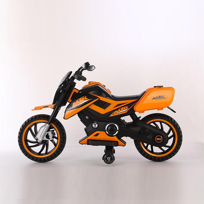 Motocicleta electrica 12V Nichiduta MTK Yellow - 2
