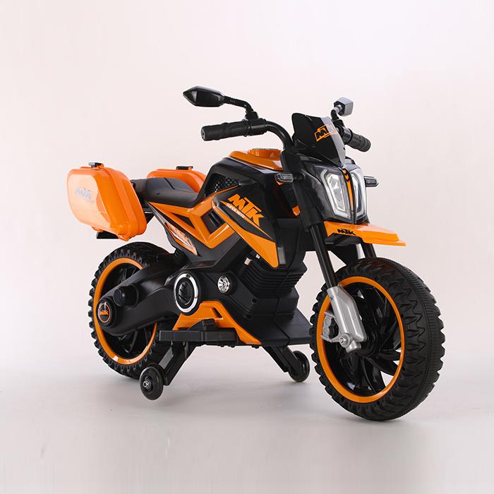 Motocicleta electrica 12V Nichiduta MTK Yellow - 3