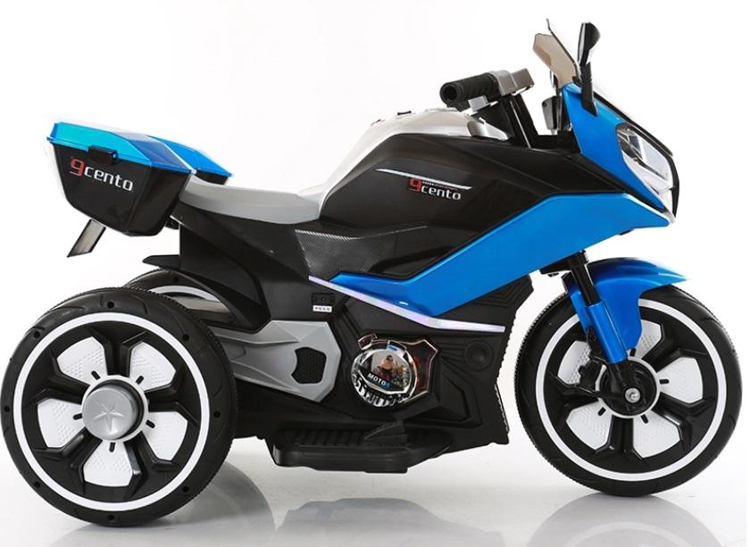 Motocicleta electrica 6V Nichiduta Racing Blue - 1