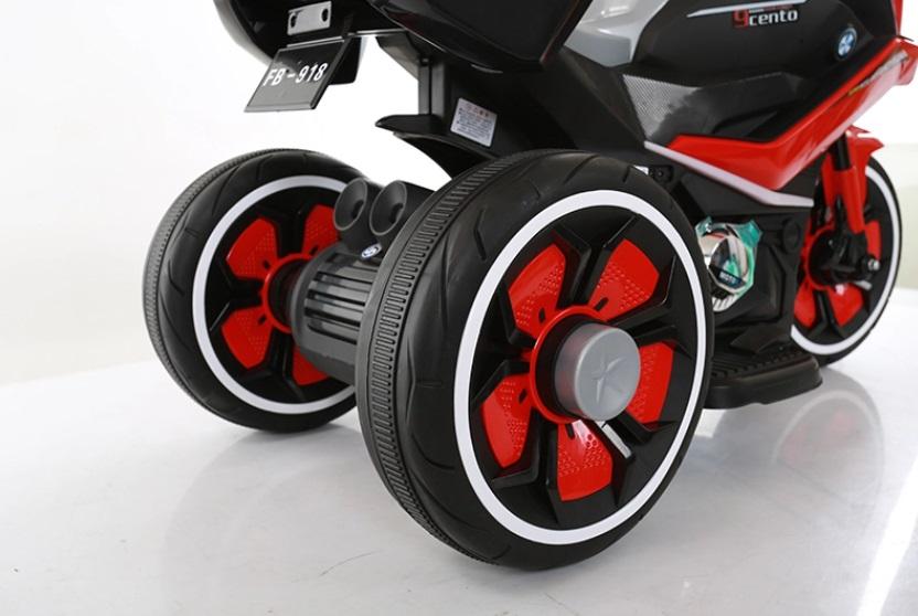 Motocicleta electrica 6V Nichiduta Racing Blue - 3