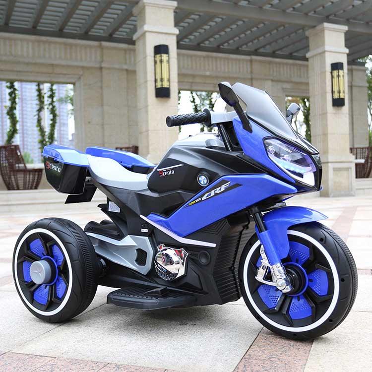Motocicleta electrica 6V Nichiduta Racing Blue - 4