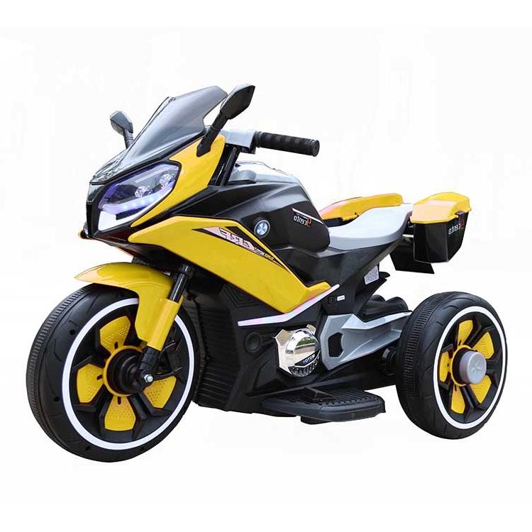 Motocicleta electrica 6V Nichiduta Racing Yellow - 3