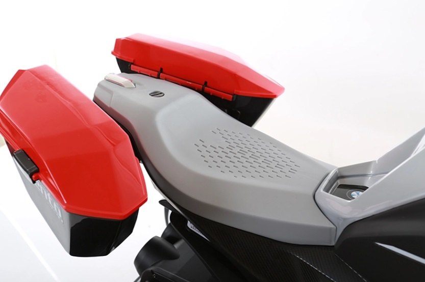 Motocicleta electrica 6V Nichiduta Racing Yellow - 2
