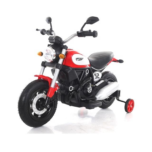 Motocicleta electrica cu roti gonflabile Nichiduta Rider Red