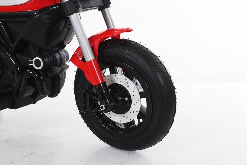 Motocicleta electrica cu roti gonflabile Nichiduta Rider Red - 1