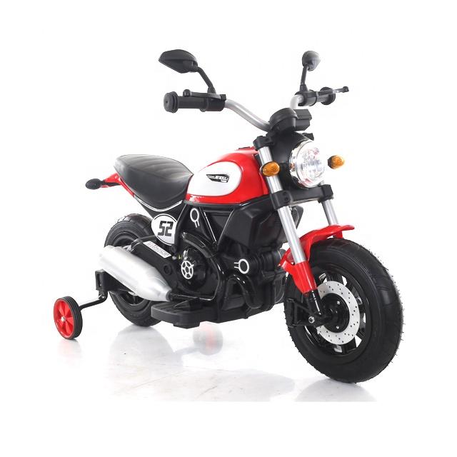 Motocicleta electrica cu roti gonflabile Nichiduta Rider Red - 2