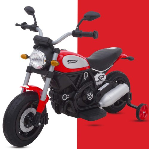 Motocicleta electrica cu roti gonflabile Nichiduta Rider Red - 3