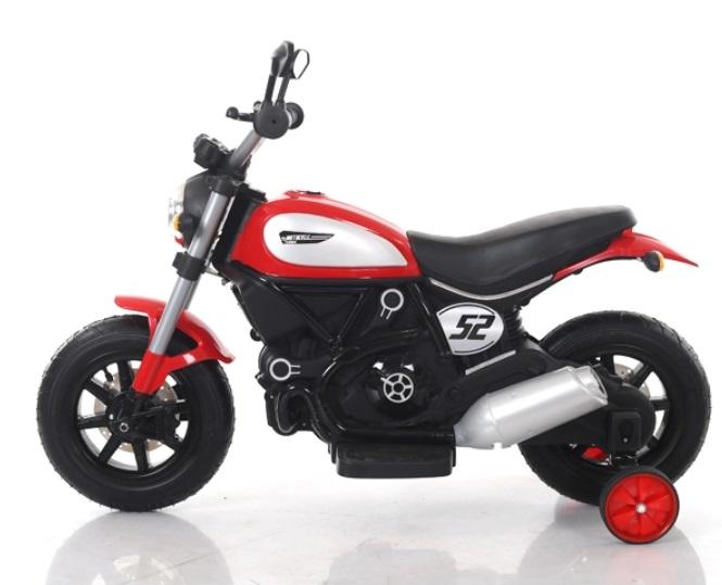 Motocicleta electrica cu roti gonflabile Nichiduta Rider Red - 4