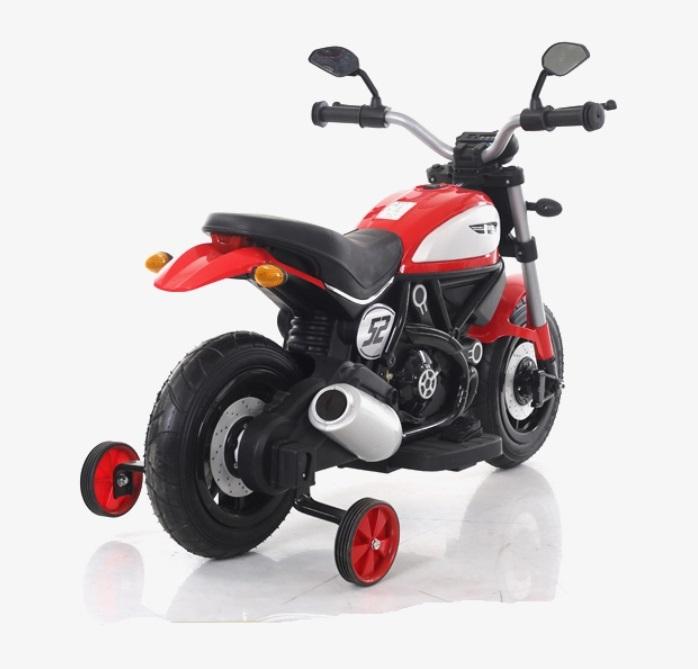 Motocicleta electrica cu roti gonflabile Nichiduta Rider Red - 5