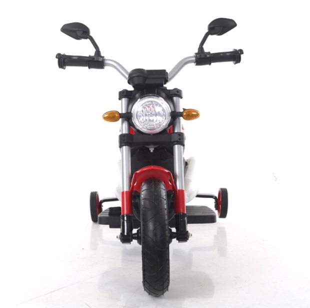 Motocicleta electrica cu roti gonflabile Nichiduta Rider Red - 7