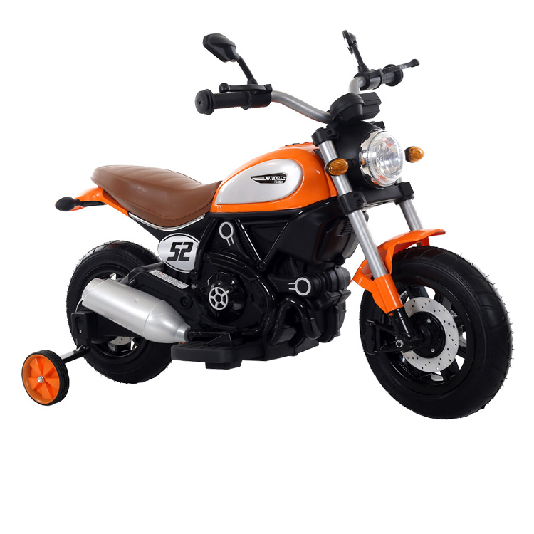 Motocicleta electrica cu roti gonflabile Nichiduta Rider Yellow - 1