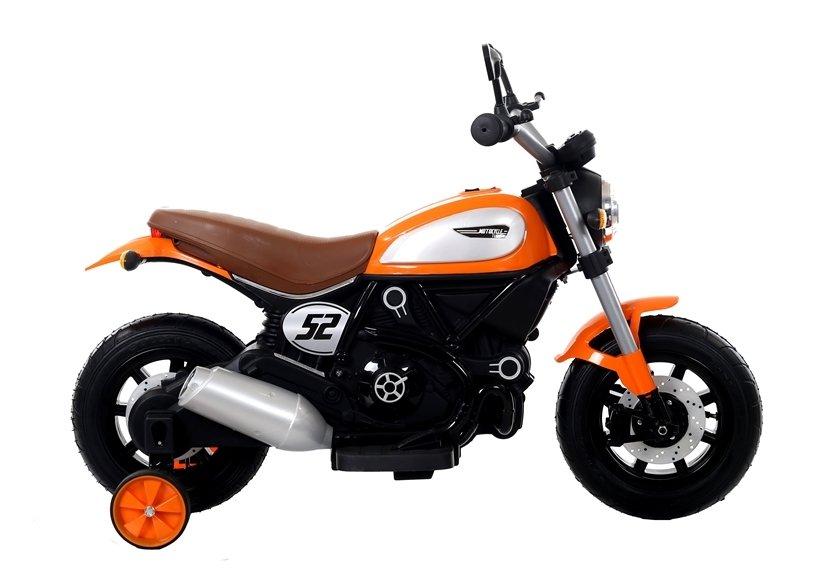 Motocicleta electrica cu roti gonflabile Nichiduta Rider Yellow - 6