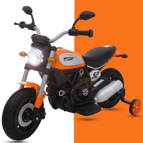 Motocicleta electrica cu roti gonflabile Nichiduta Rider Yellow - 7