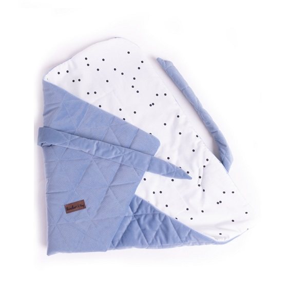Port bebe textil pentru transportul bebelusilor Jeans