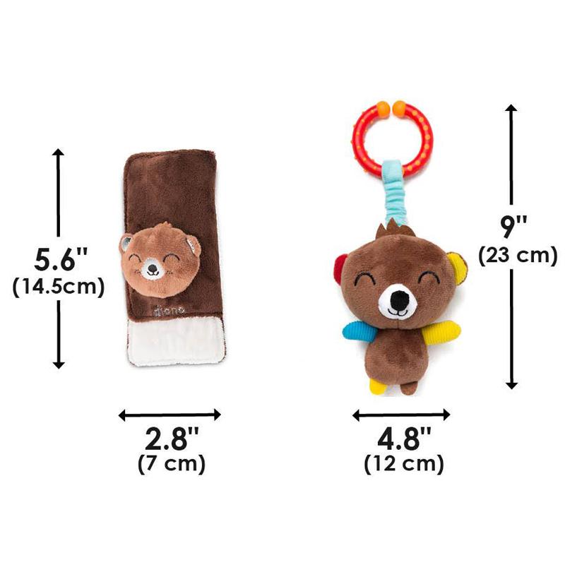 Protectii centuri Soft Wraps cu jucarie Ursulet imagine