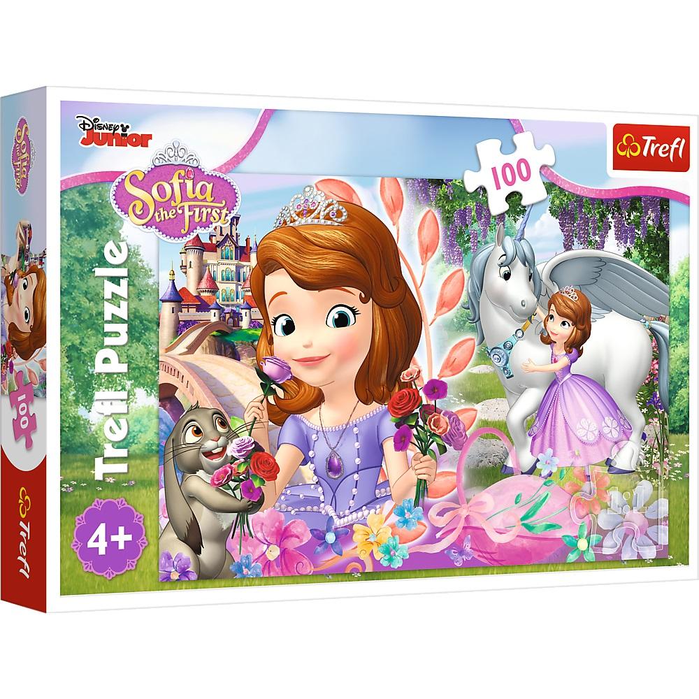 Puzzle Trefl Disney Sofia Imparatia aventurilor 100 piese