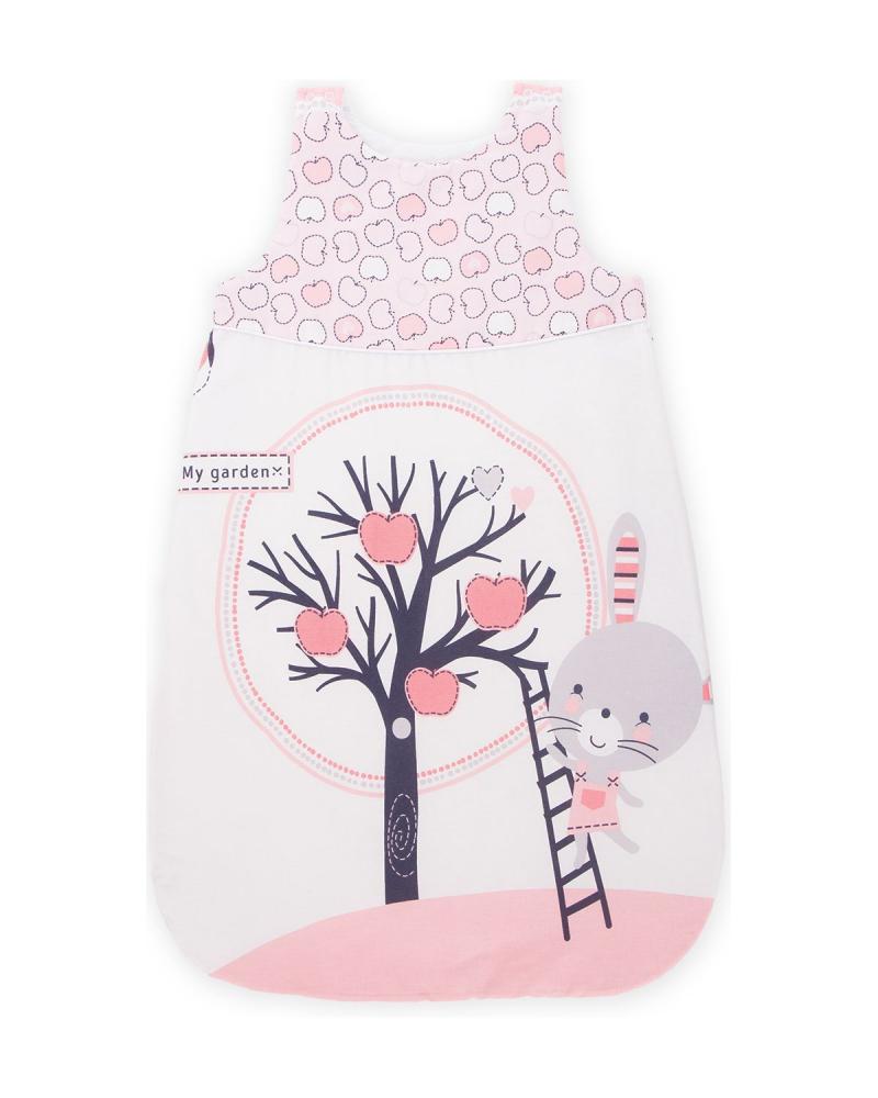 Sac de dormit KikkaBoo 6-18 luni Pink Bunny