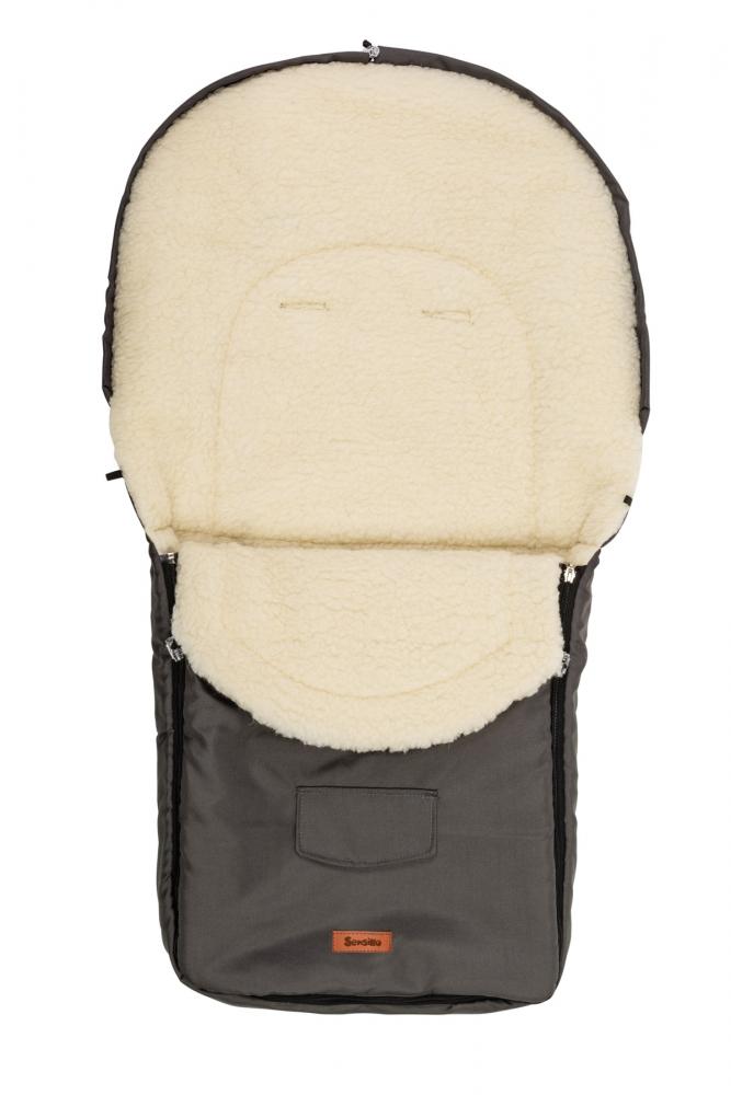 Sensillo Sac de iarna Sensillo lana Graphite