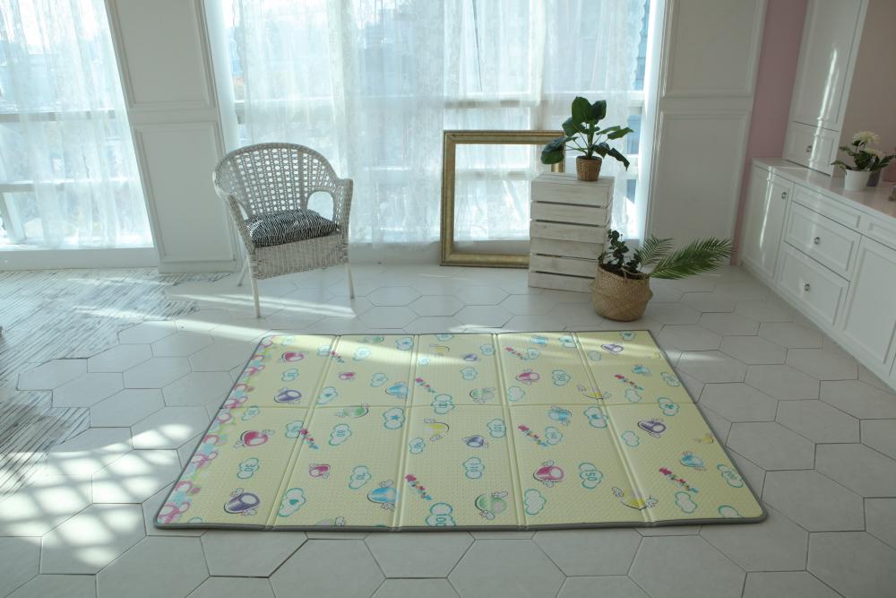 Saltea Sobble Marshmallow Dream pliabila 1.4m 100 sigura eco-friendly Multicolor