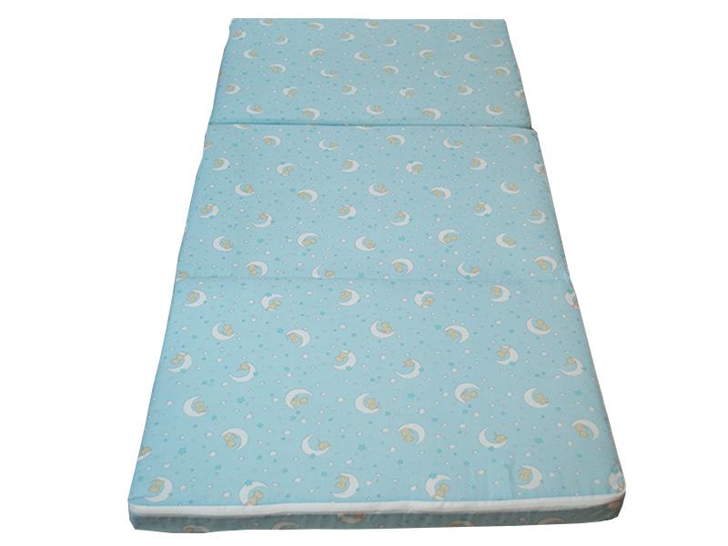 Saltea pliabila copii spuma poliuretanica (burete) albastra imagine