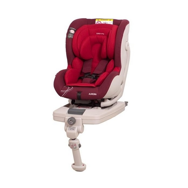 Scaun auto Coto Baby Aurora isofix 0-18 kg red