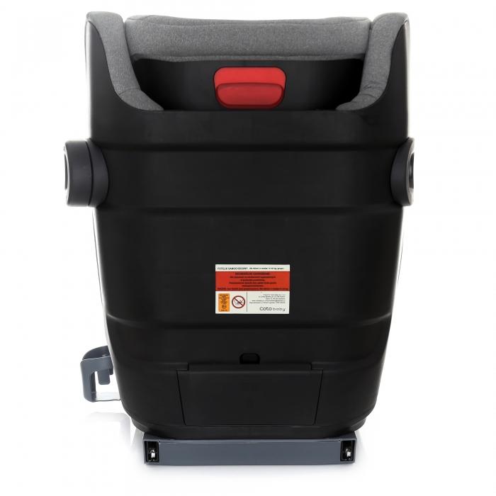 Scaun auto Coto Baby Bari isofix 15-36 kg Grey Melange