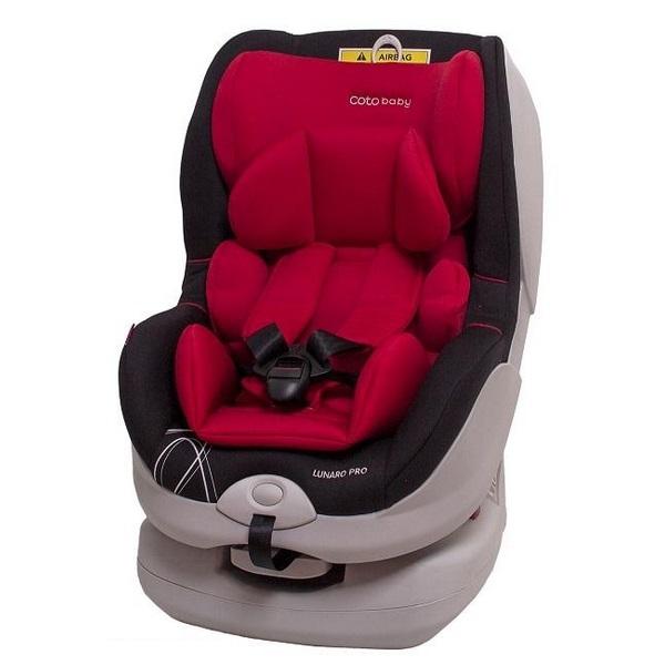 Coto Baby Scaun auto Coto Baby Lunaro Pro isofix 0-18 kg red