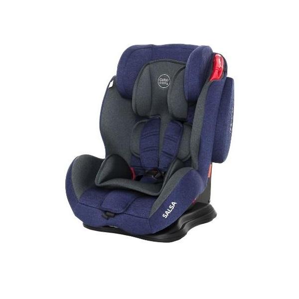 Scaun auto Coto Baby Salsa 9-36 kg Melange Blue