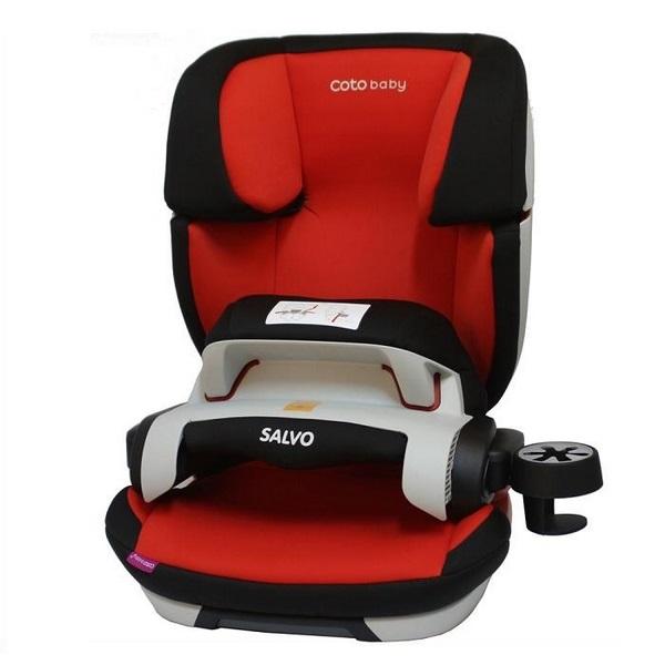 Scaun auto Coto Baby Salvo isofix 9-36 kg red