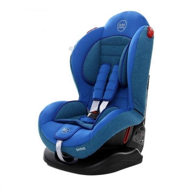 Scaun auto Coto Baby Swing 9-25 kg Melange Blue imagine
