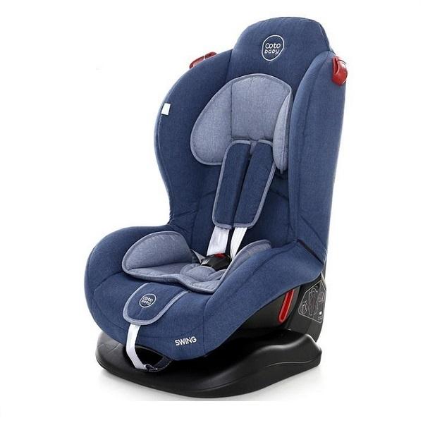 Scaun auto Coto Baby Swing 9-25 kg Melange Blue New imagine