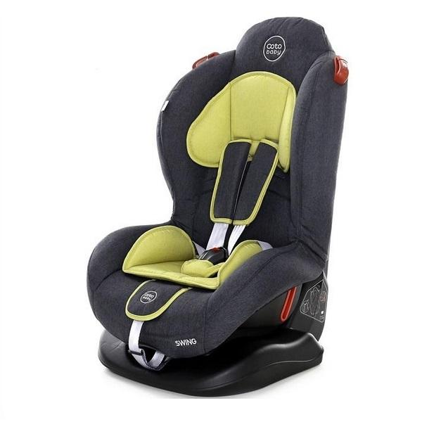 Scaun auto Coto Baby Swing 9-25 kg Melange Olive New imagine