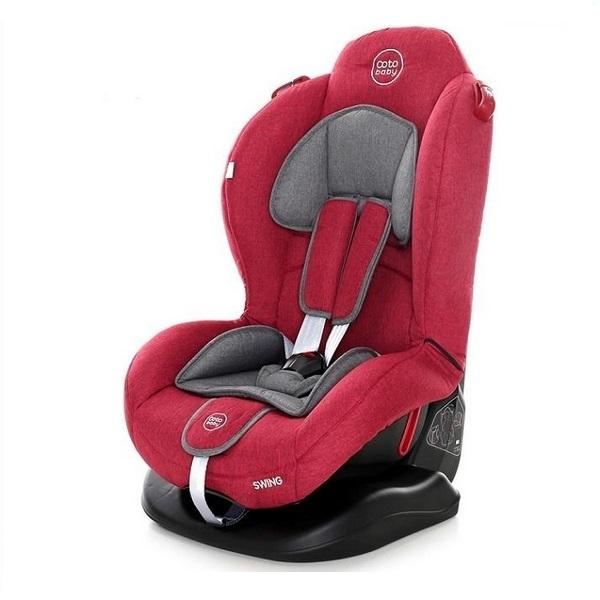Scaun auto Coto Baby Swing 9-25 kg Melange Red New imagine