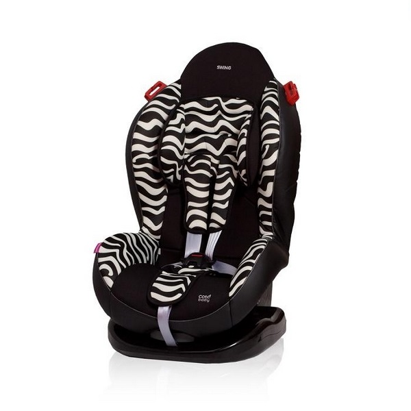 Scaun auto Coto Baby Swing 9-25 kg Zebra