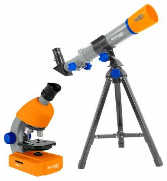 Set microscop cu telescop Junior National Geographic
