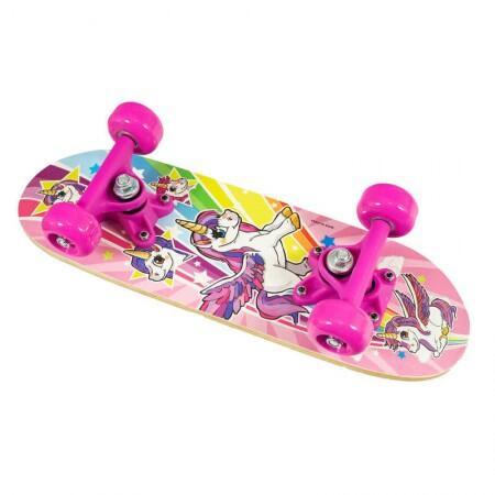Skateboard pentru fetite unicorn imagine