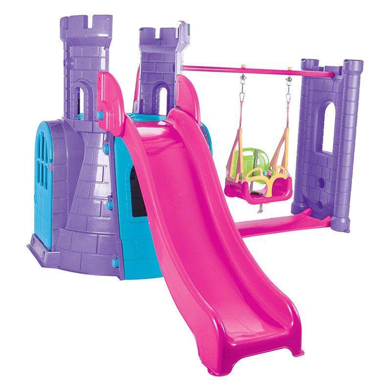 Spatiu de joaca Activity Castle Purple